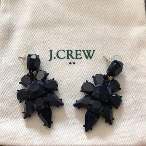 J.CREW Navy Blue Drop Earrings